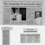LIUBA - Il Domani, La Repubblica, Il Resto del Carlino, 2001