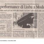 Gazzetta di Modena 2009