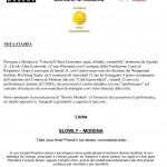 LIUBA - The Slowly Project - Comune di Modena (Modena Municipality), 2007